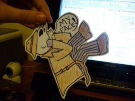 My 1st Paper Child: Rorschach by Hottspinner
