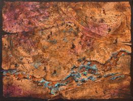 Green Belt - Copper Leaf by AstridBruning