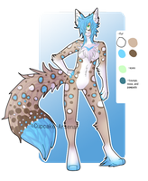 Anthro Fox Girl Auction {CLOSED} by comLcsans