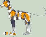 NYP-Mottled Mutt Adopt [CLOSED] by FKAdopts
