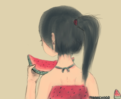 watermelon by pandachooo