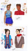 Hipster Disney by vika8D