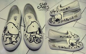 Snoopy by cupcakes-custom