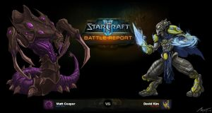 Starcraft II Battle Report by Mattius2011