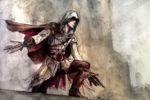 Ezio Auditore by elicenia