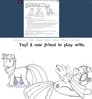 NotVeryRoyal and I are Buddies! by SonicMon