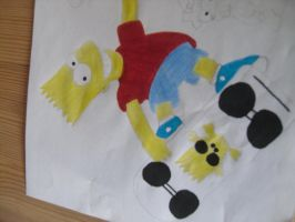 Bart Simpson by RebeccaG1999