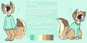 Tom reference sheet!! by Magnet-Crayon