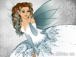 Wings Series: Snow Fairy Me by Brushogen