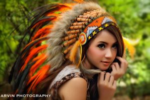 Winny- Indian by arvinsp21