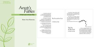 Aesop's Fables Typography by meghar
