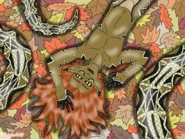 Fall for me - Autumn Naga Contest by thesnakechild