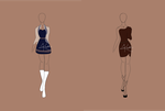 Fashion Adoptable Auction 1-OPEN by whimsicalitea