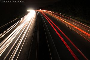 Highway lights by AljoschaThielen