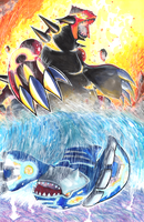 Omega Ruby and Alpha Sapphire by matsuyama-takeshi