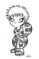 Chibi gaara again by goiku