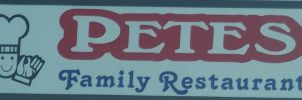 Petes Family Restaurant Logo by Elistariel