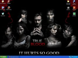 True Blood by electropencil