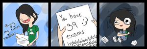 Life Sucks Ep.01 - Exam Timetable by HeyVikkiTime