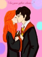 See you after class kiss by DKCissner