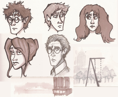 Prisma Sketches by jaymetwins