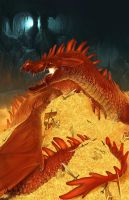 Smaug the Magnificent by Norke