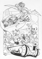 Chrono Trigger Team commission by RyanJampole