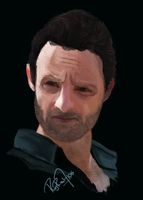The Walking Dead - Rick Grimes by aiRoy17