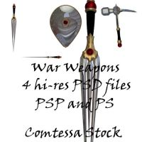 War Weapons PACK1 by Comtessa-Stock