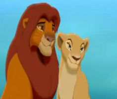 King simba and Queen Nala by StupidDeepPeople