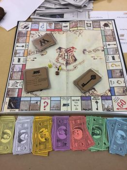 Harry Potter monopoly by kaysfantasycreatures