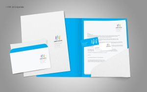 travel agency Id Corporate by solo-designer