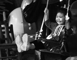 On the swing by cathyss02