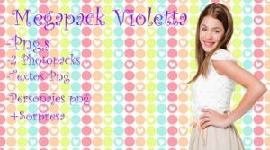 Megapack Violetta by BriiEditionss
