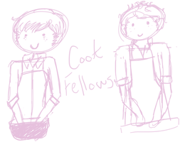 Cooking Fellows Doodles by Razapple