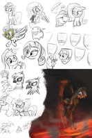Livestream sketches (1) by Pirill-Poveniy