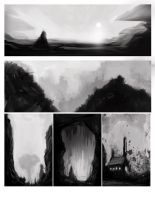Landscape Paintings Practice 2 by Baranha