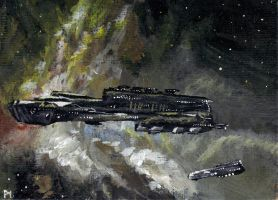 ACEO Rokh - Eve online by Phil-Monk