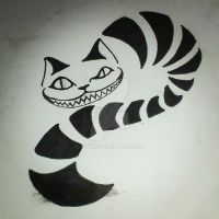 Cheshire Cat by Owy