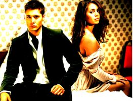 Get Dressed: Dean and Faith by Falthee