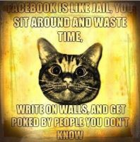 Facebook Is Like Jail by TheRejected000
