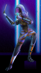 Tali'Zorah vas Normandy - Emergency Induction Port by kittyocean