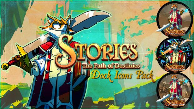 Stories: The Path of Destinies Dock Icons Pack by courage-and-feith