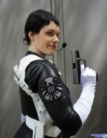 Maria Hill - Deputy Director by hiddentalent1