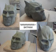 Batman Sculpture by 93Hotaru