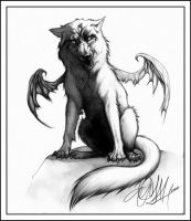 .: Wing Wolf :. by Chernobylpets