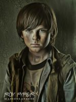 The Walking Dead: Carl: Anisotropic Filter Re-Edit by nerdboy69