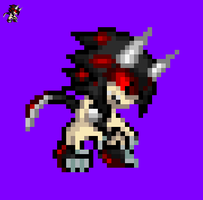Demon Francis Sprite by NSMBXomega
