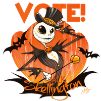 VOTE Skellington by Fairygodflea