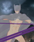 Batman nsfw sneak by OujiRainu